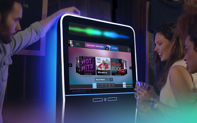 TouchTunes - The leader in interactive music and entertainment experiences featured in bars, restaurants and other social venues in North America and Europe. We create impactful music and entertainment experiences through interactive displays, digital, mobile, and social channel. TouchTunes makes its products and services available through an extensive network of qualified, local amusement operators.Learn more about TouchTunes >