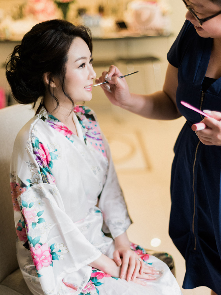 Wedding hair makeup artist Martha Mok - Photography: We Are Origami Photography