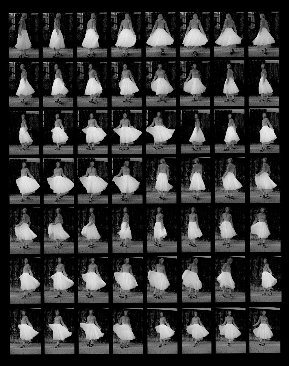 Charlotte Contact Sheet