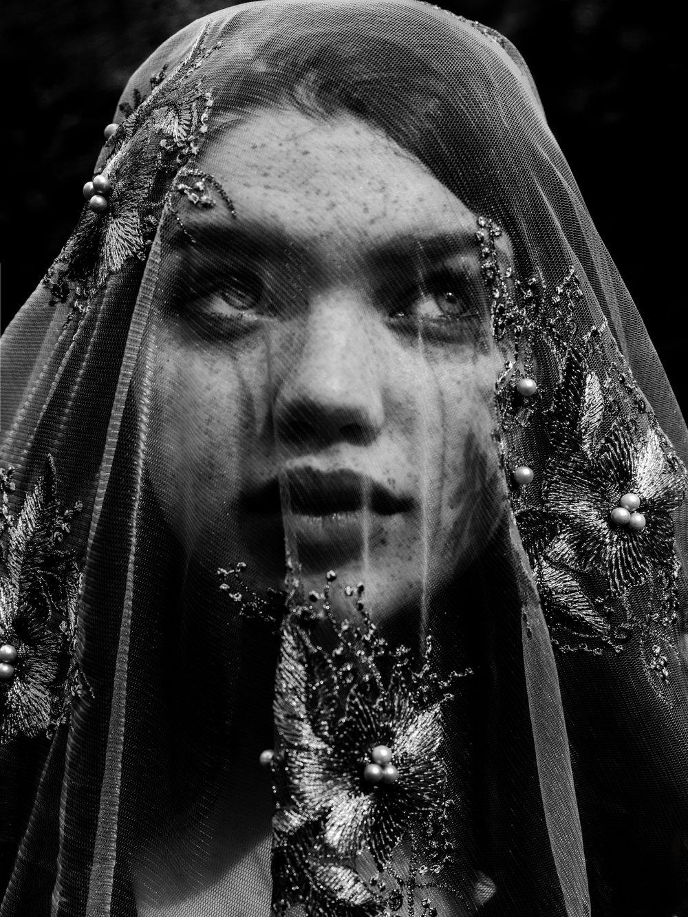 Sabira With Veil