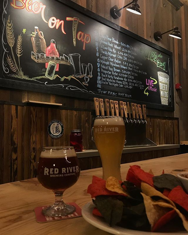 Make sure you stop by Red River's newest hang out spot this weekend! Red River Brewing Company is officially open as the first and only brewery in Red River! Between their beer and food menu we're sure you'll find something to satisfy any appetite. #RRBC #RedRiverNM #RRCC #RedRiverChamberOfCommerce