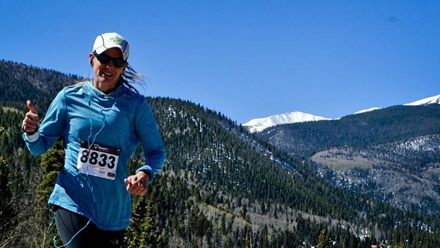 This runner gives the High Mountain Half Marathon & 5K a big thumps-up! The average temperature in Red River during August is 73 degrees and sunny! Register to run in the beautiful New Mexico mountains.  For more information visit https://www.redriverchamber.org/high-mountain-half-marathon-5k/ To register to run visit https://www.active.com/red-river-nm/running/distance-running/high-mountain-marathon-and-5k-2018