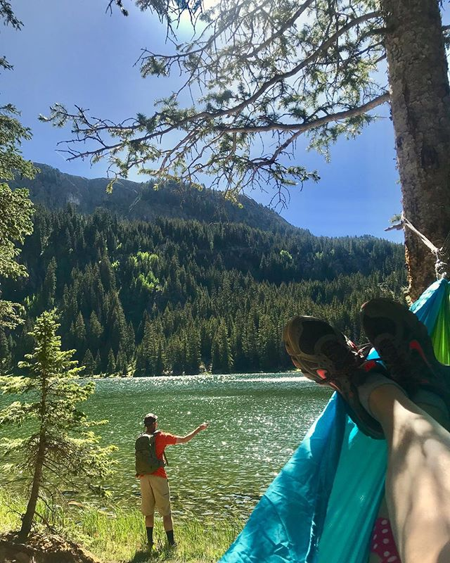 Make sure you visit Middle Fork Lake next time you're in Red River! It is the perfect place to hang a hammock, fish, or have a picnic lunch after a beautiful 2 mile hike! The trail climbs upwards through the forest to waterfalls where the creek must be crossed. The trail then follows a series of switchbacks on to the lake which sits at 10,845 feet.
