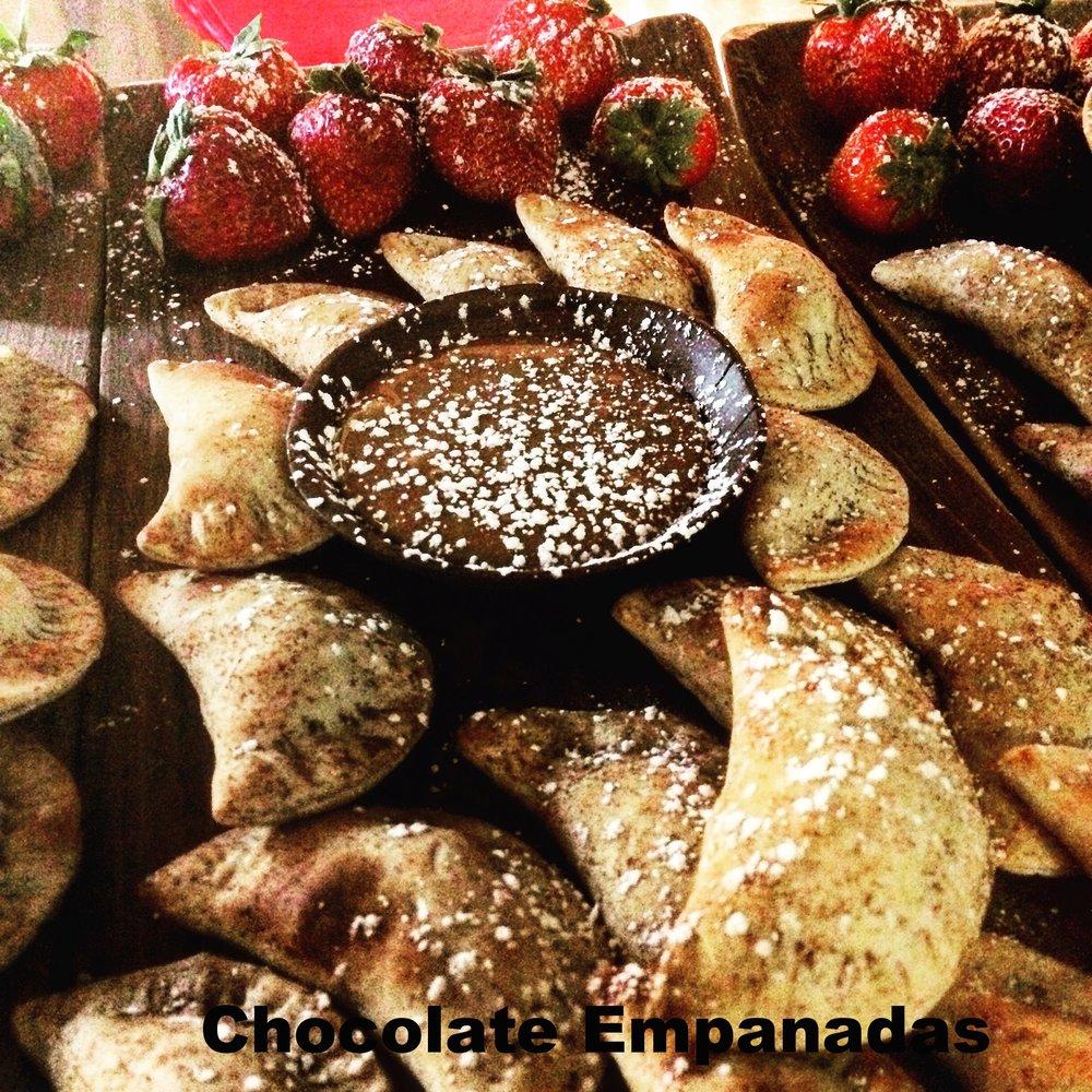 Chocolate Empanadas