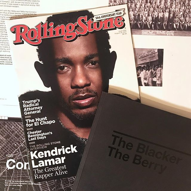 Who remembers this issue of Rolling Stones from 2017?! Was true then and is still true now, greatest rapper alive. 🔥🔥🔥 Preorder The Blacker The Berry - The Book now through April 28! (Link in bio)