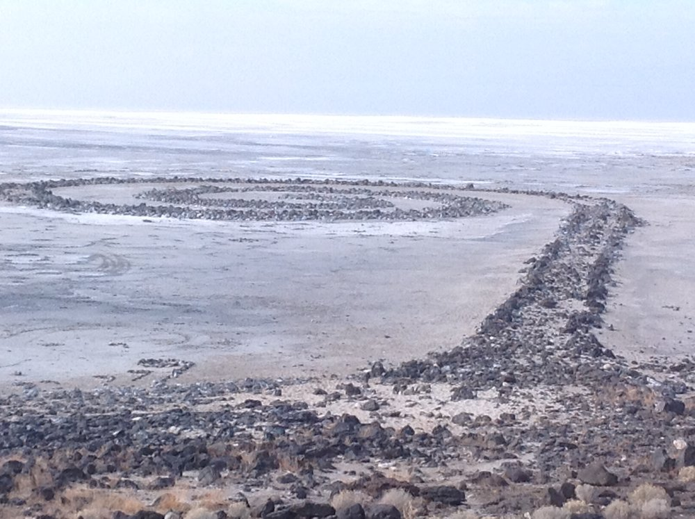 Figure 4   Spiral Jetty Rozel Pt . Nov.21 2014