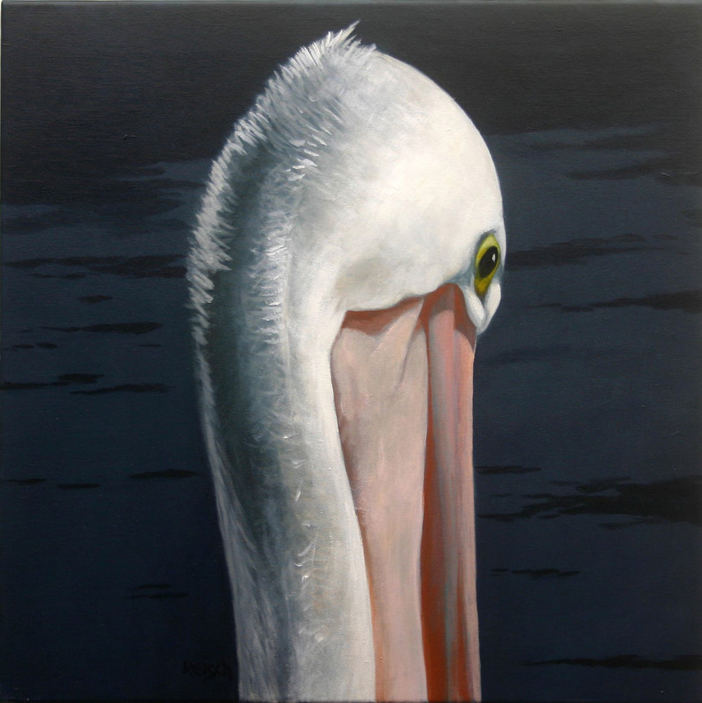 Heir Apparent-2 - oil on canvas-50x50cm