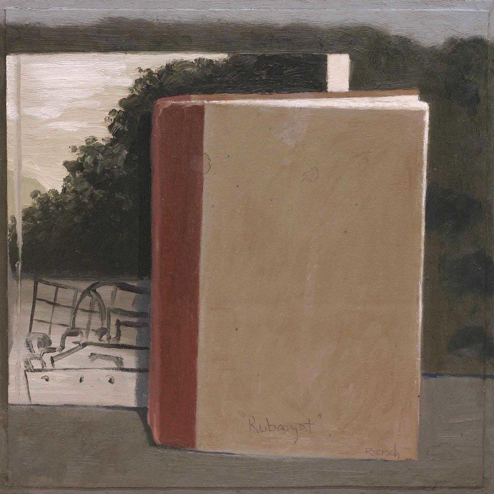 Rubaiyat   -2002 oil on canvas 30x30cm.