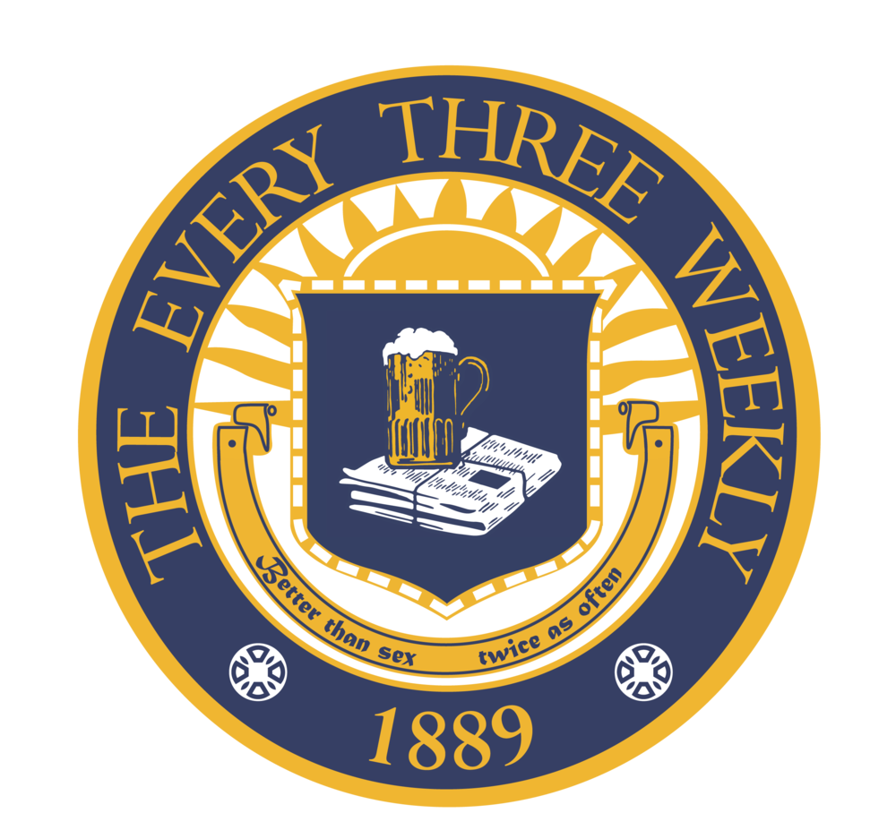 Every Three Weekly    The Michigan Every Three Weekl y, also known simply as  The Every Three Weekly  and E3W,is a student publication at the University of Michigan modeled after the satirical news publication  The Onion . Named as an homage to student newspaper  The Michigan Daily ,  The Every Three Weekly  contains fictional news articles that satirize local, national, and international events and public figures.