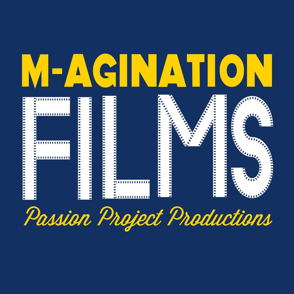 M-agination Films   M-agination Films is a student production company through UAC at the University of Michigan. The Board of Producers, made up of Michigan students, chooses 15-16 passion projects per year that are submitted by other students to produce, shoot, and screen at the Michigan Theatre in Ann Arbor, MI in April at the Annual Festival.
