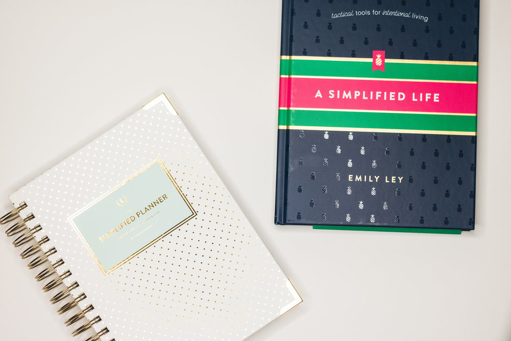 A Simplified Life and Simplified Planner