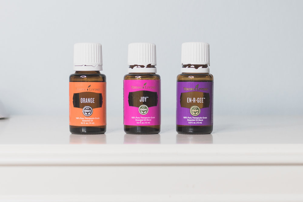 Essential oils for happy thoughts