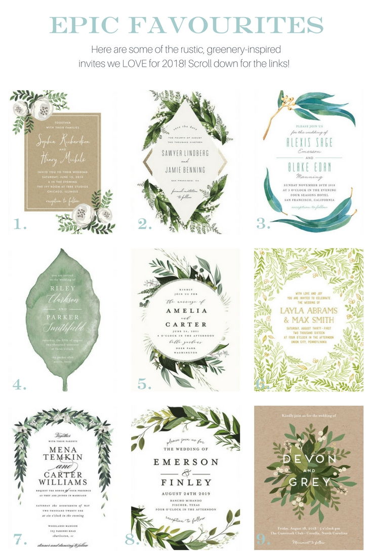 Wedding Invites - Greenery Inspired.jpg