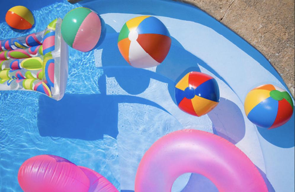 pool toys -