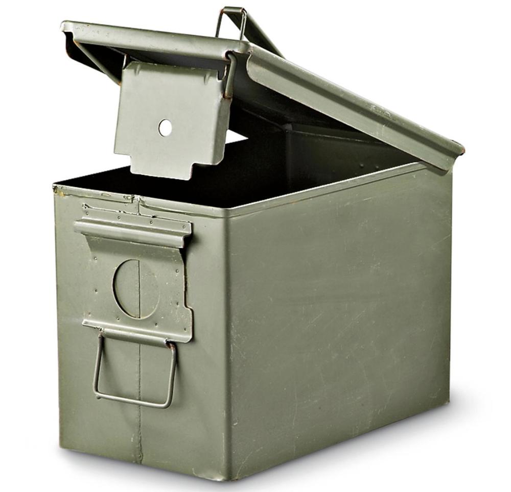 ammo boxes -