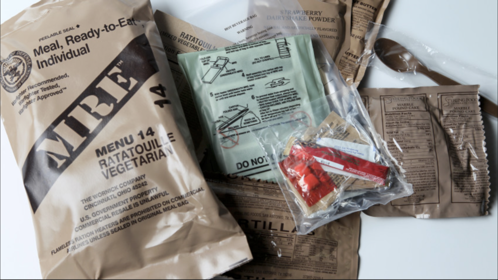 mre meals ready to eat -