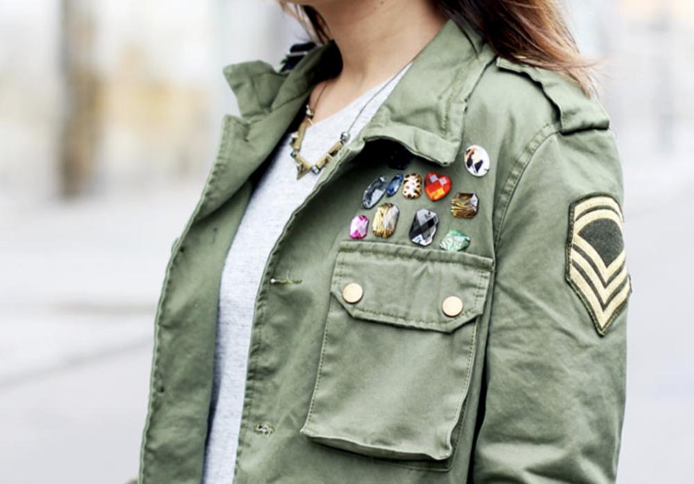 military fashion -