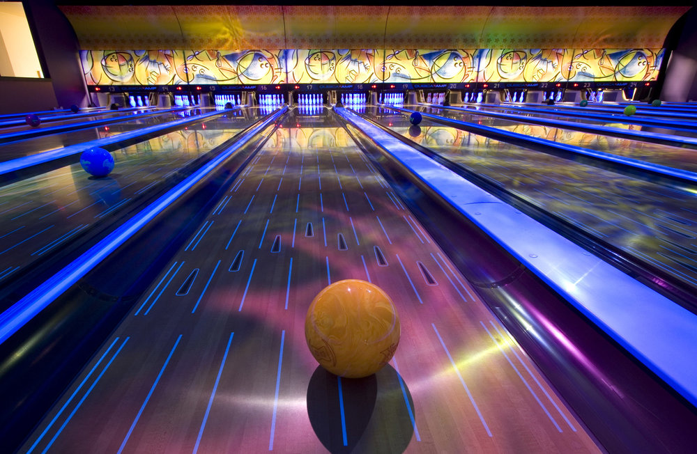 Bowling Lanes and Bowling Ball