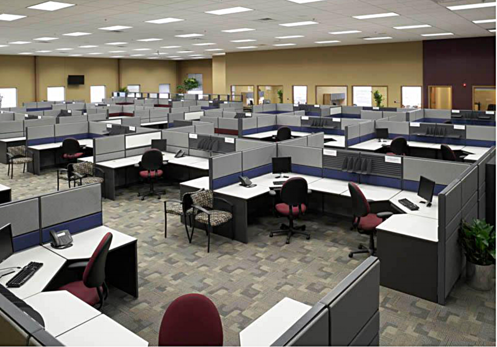 Interior workstations