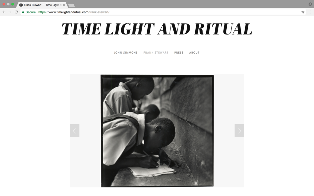 Time Light and Ritual  -