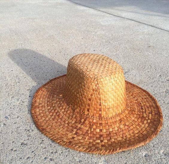 Woven Cedar Hat