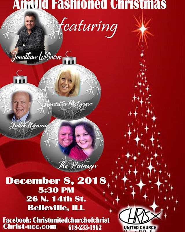 Happening this weekend!! Come join us!!! #sing #singing #church #christmas #belleville #illinois #saturday #saturdaynight #allarewelcome