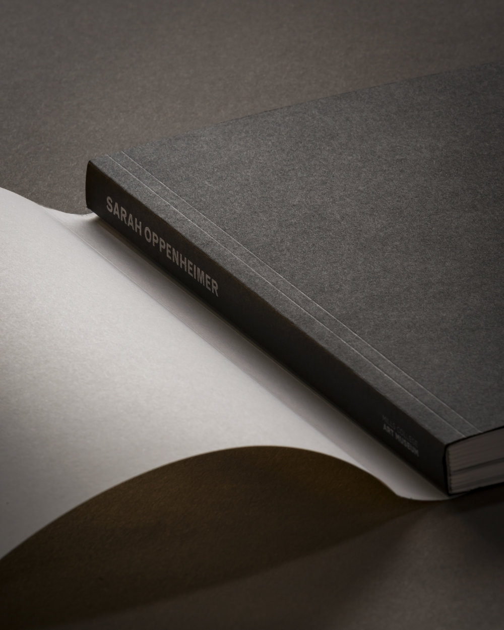 Offset printed and lay-flat perfect bound with jacket