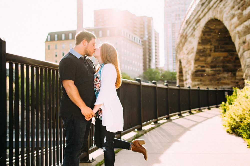 Stone Arch Bridge Engagement Portrait-2.jpg