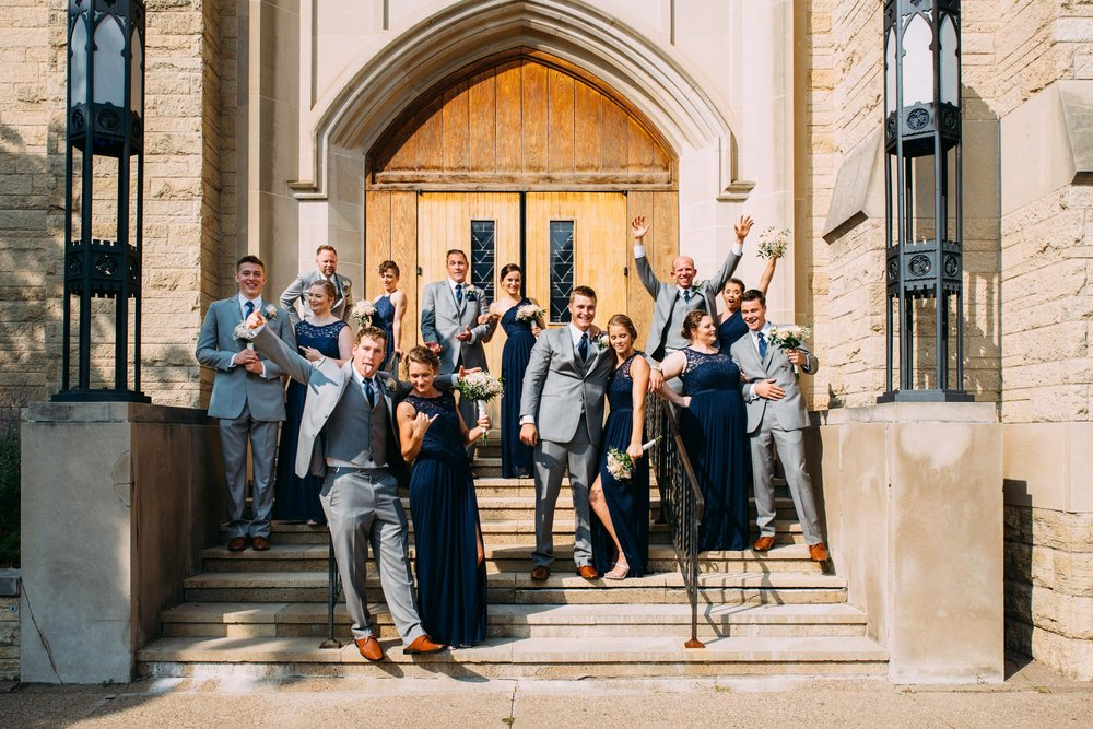 17-Lindsey Jake Wedding Party Winona St Martin's Lutheran Church.jpg