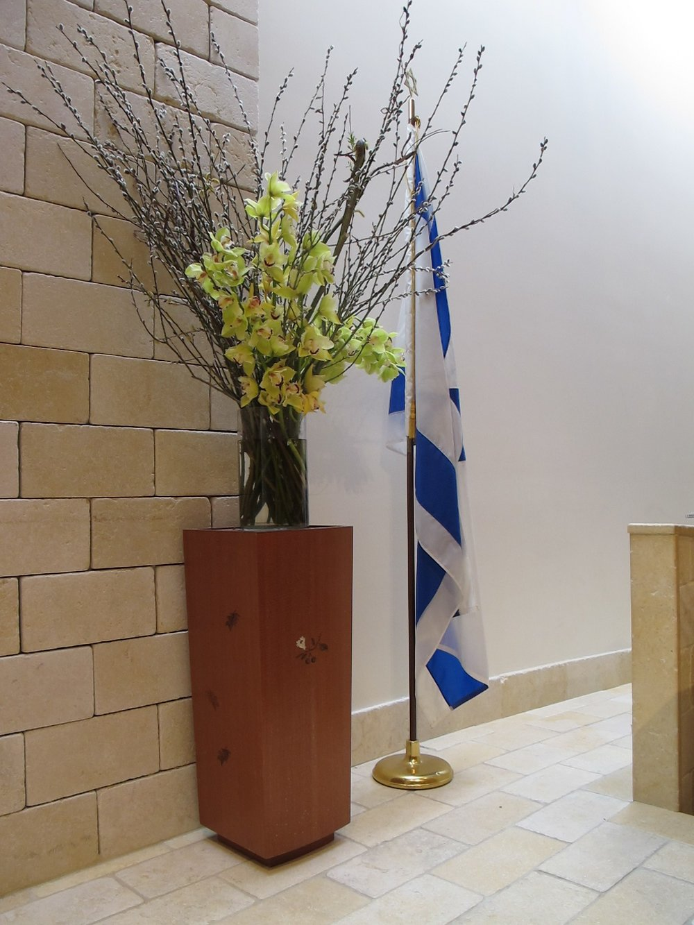 Synagogue Flower Stand