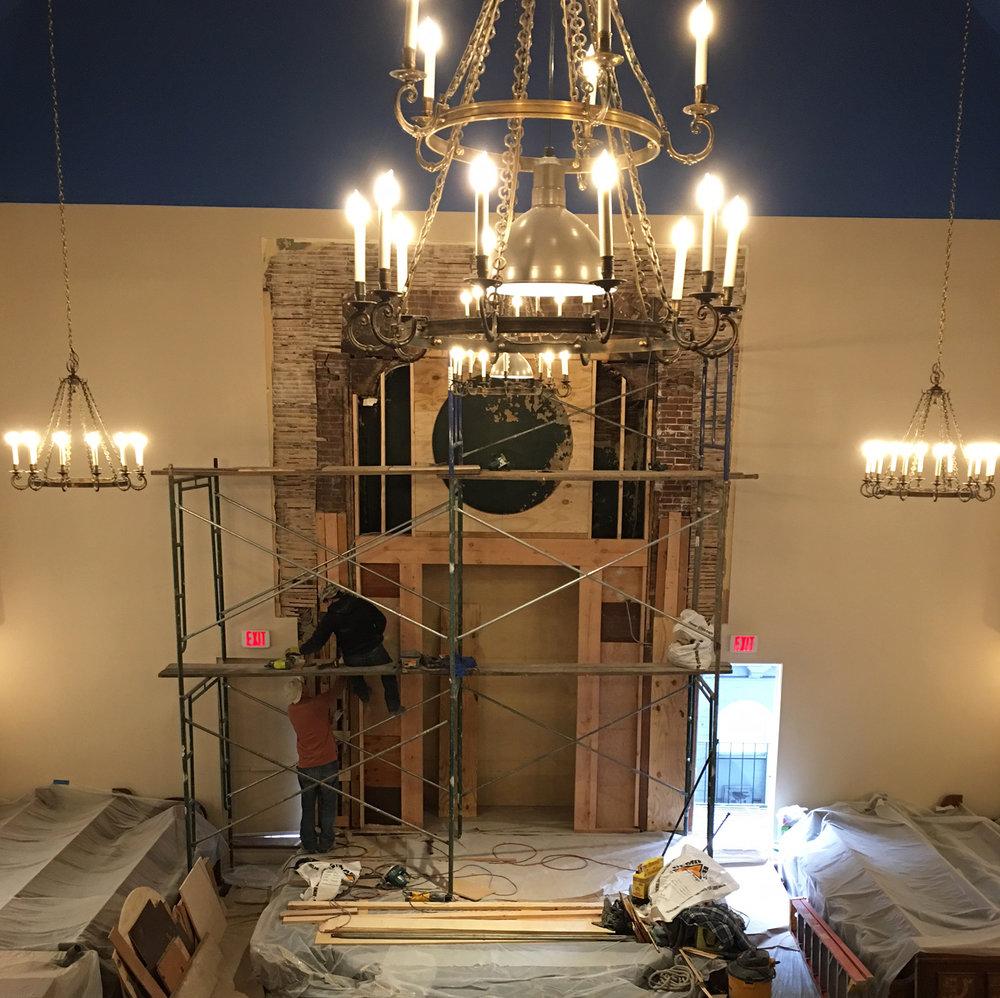 Bimah Renovation at Or Olam