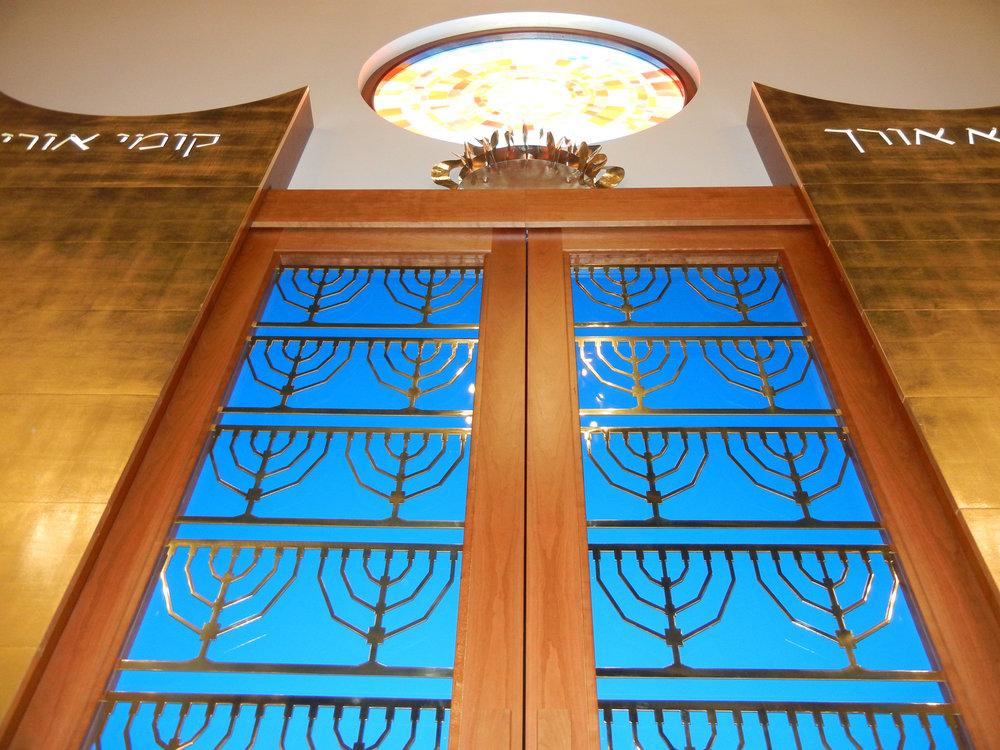 Torah Ark Aron Kodesh Doors