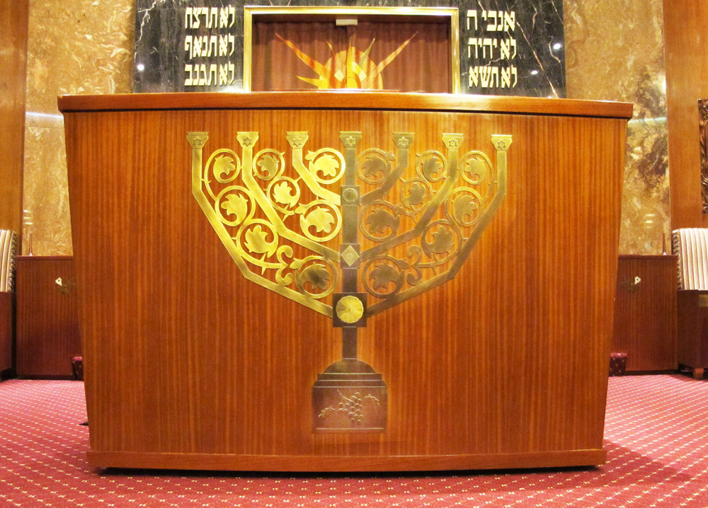 Rounded Torah Reading Table
