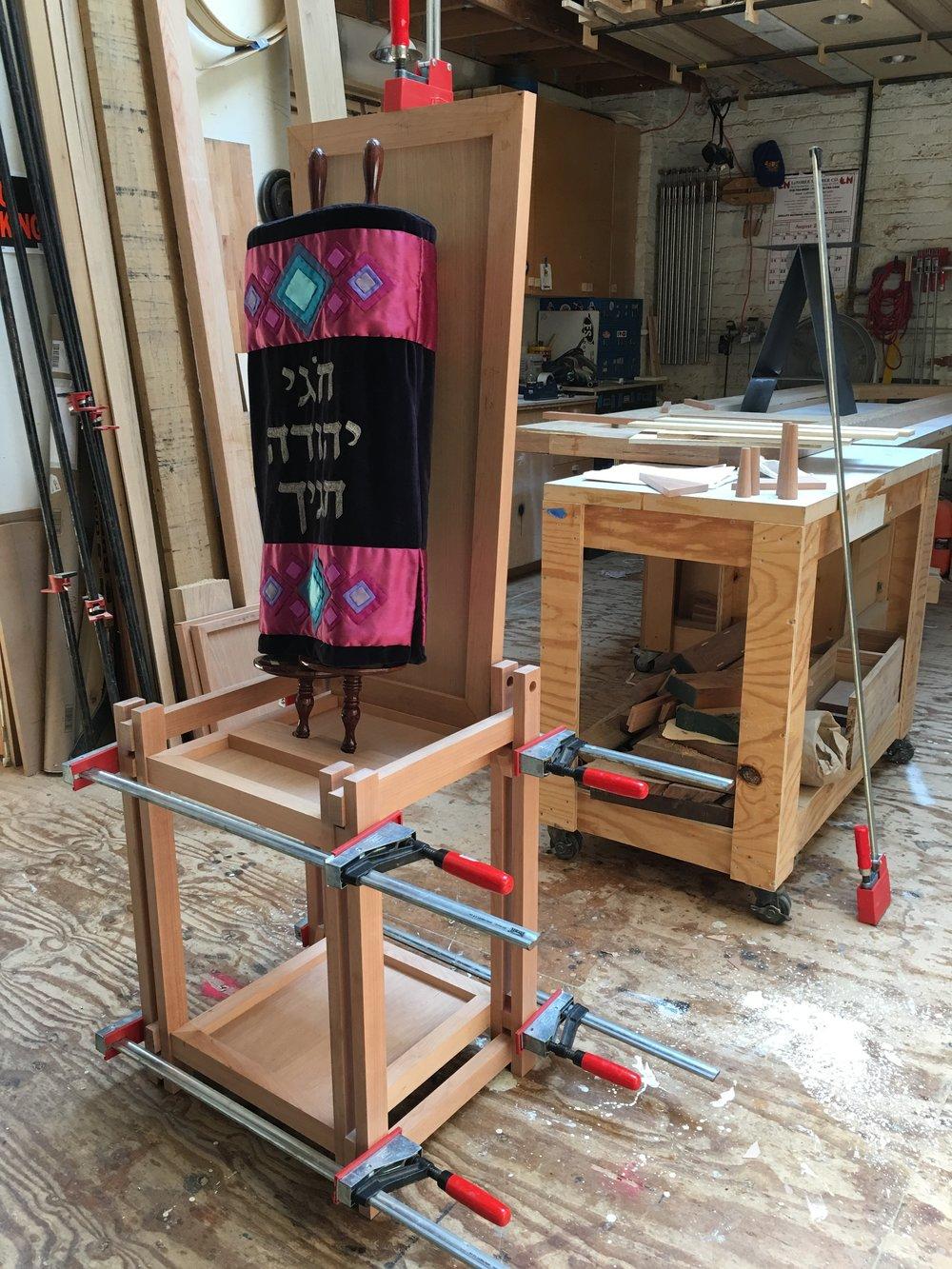 Torah Holder in the making