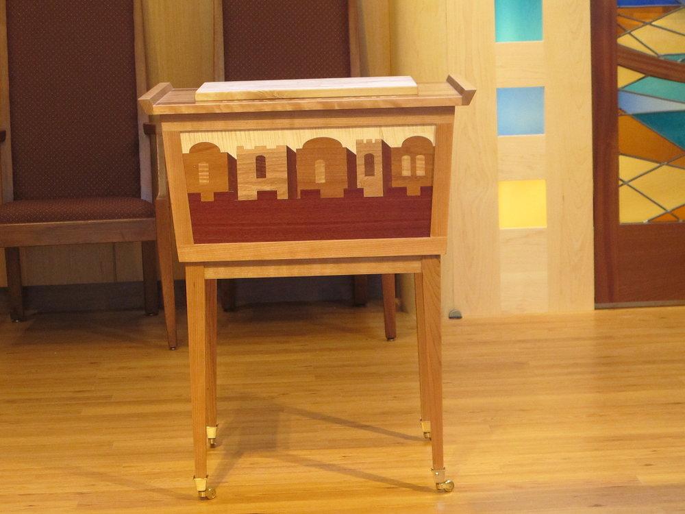 Shabbat and Kiddush Table