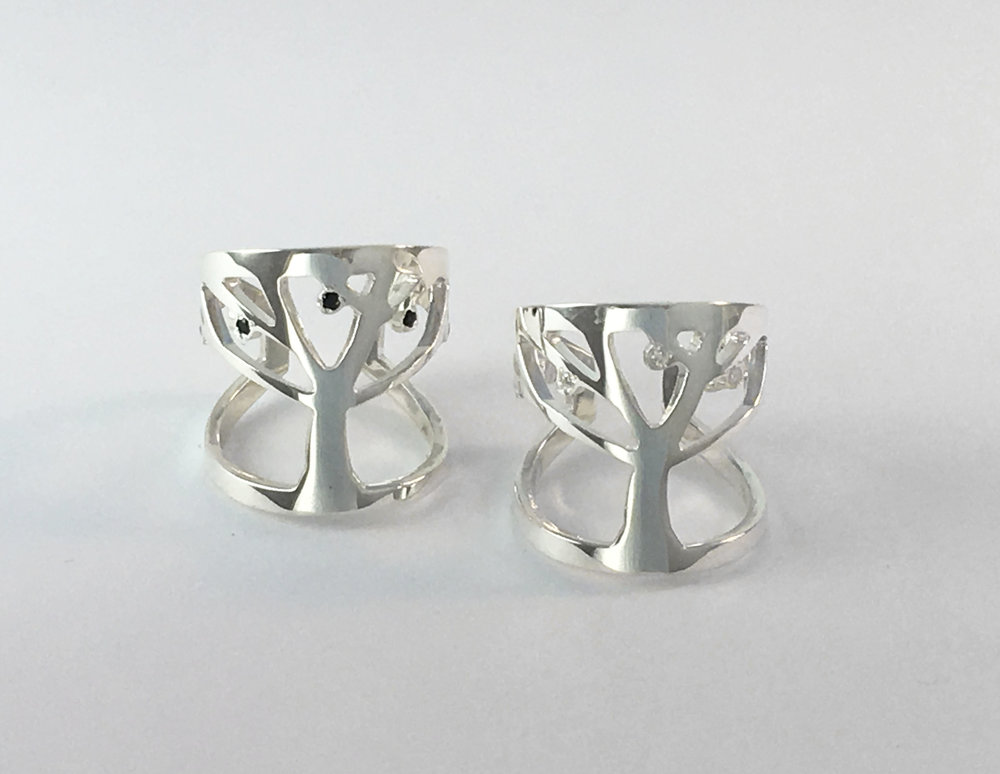 Tree of Life Rings Judaic Jewelry