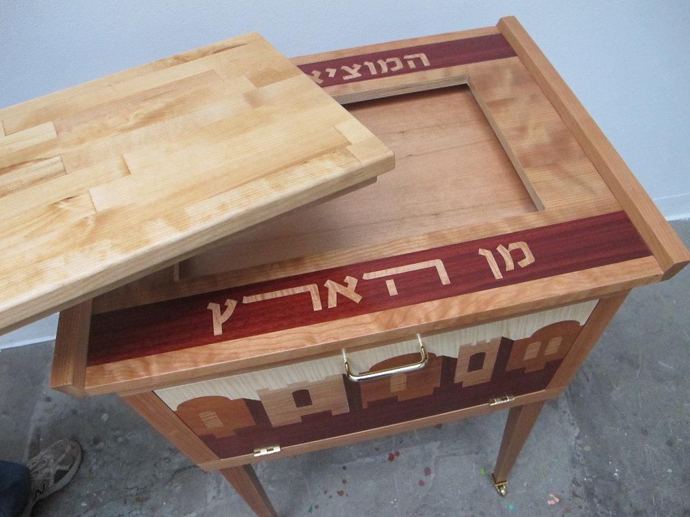 Shabbat and Kiddush Table Top