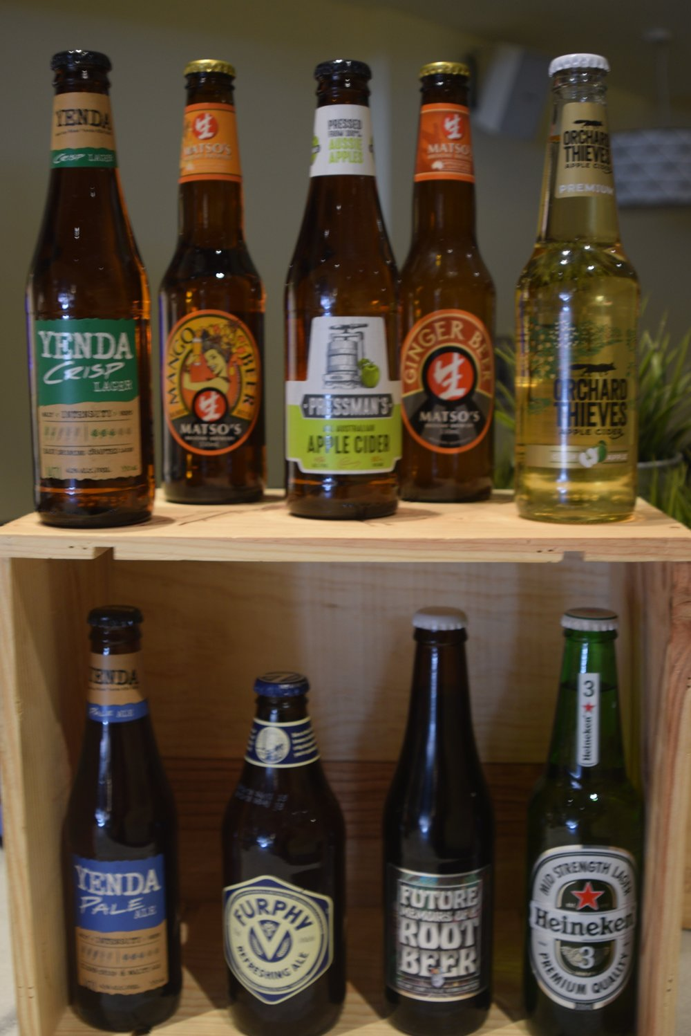 Licensed - Craft beers and Apple ciders