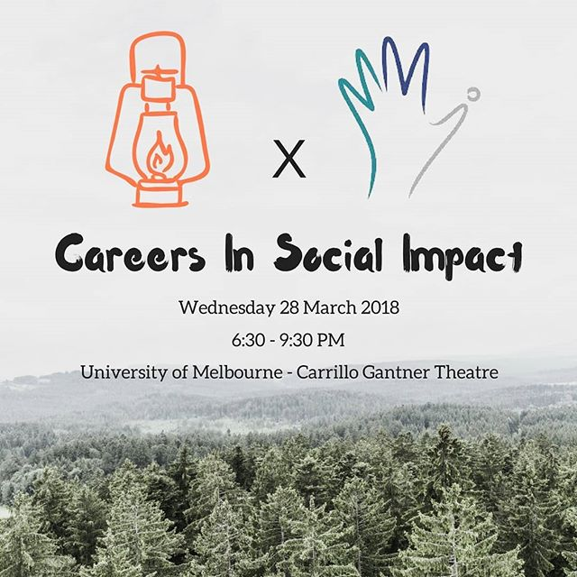 We're hanging out with our friends the Melbourne Microfinance Intiative at their Careers in Social Impact event tomorrow night! Come down to meet some of the team, learn about our next steps and hear about how you can get involved.  We'll be hanging out at our stall after a jam packed panel which includes representatives from @ygap, @worldvisionaus and @impactinvestmentgroup.  Check the link in our bio to grab tickets. (Massive shout out to @monashseed for having us on their So, You Want To Change the World panel last week!) #socialimpact #student #university #melbourne #events