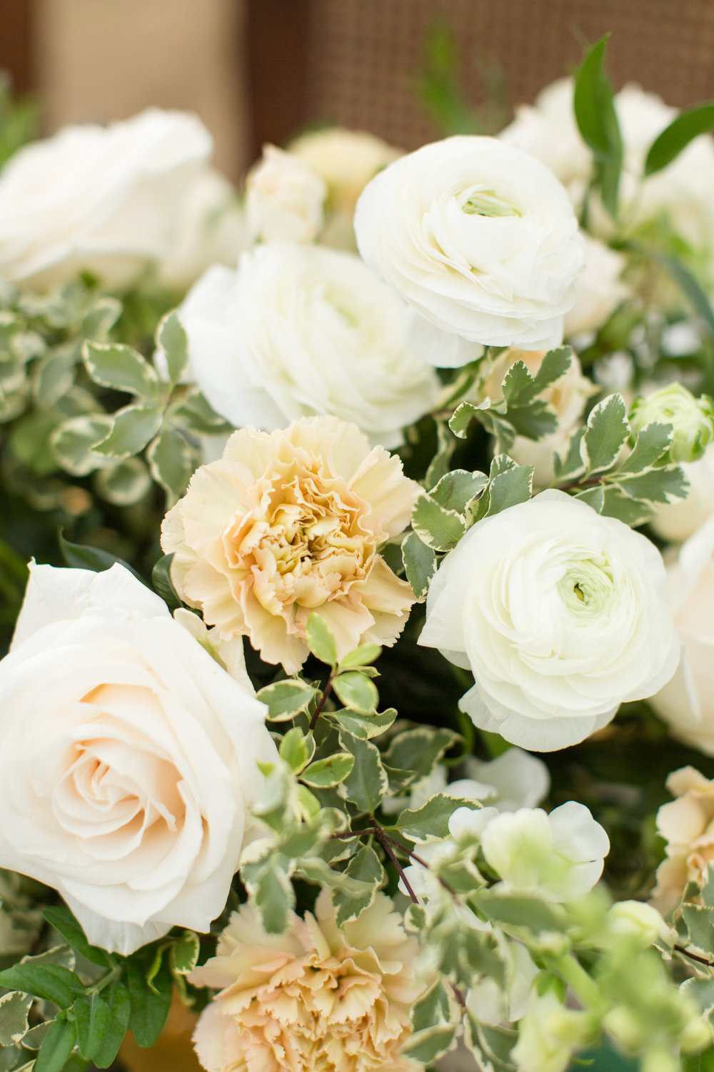 Rustic wedding flowers in Chicago