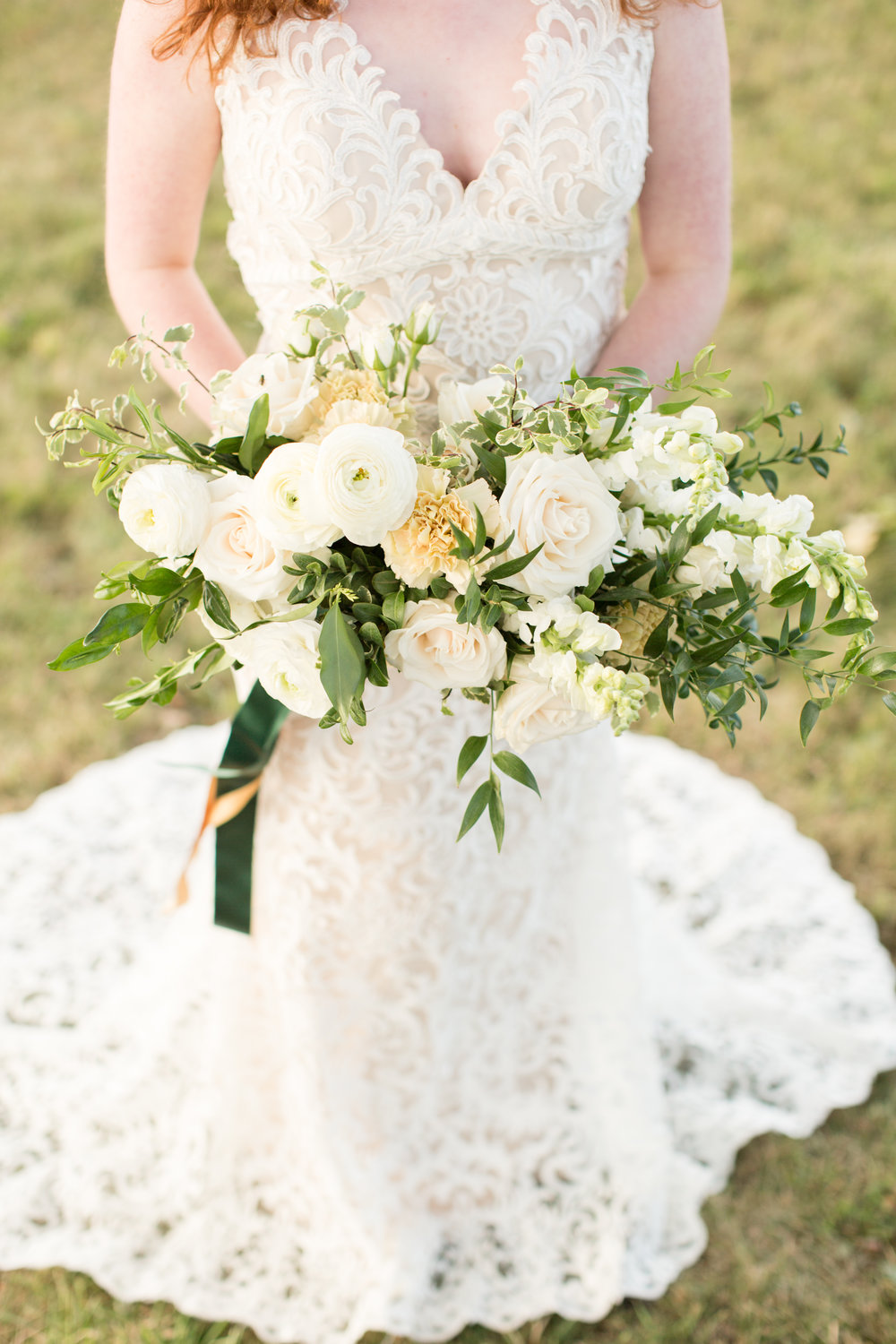 Organic wedding bridal bouquet Chicago