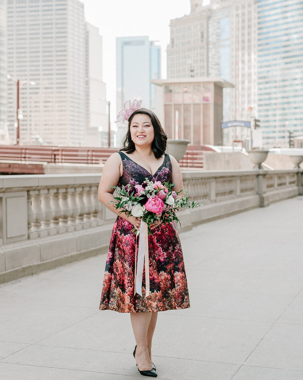 chicago elopement flowers
