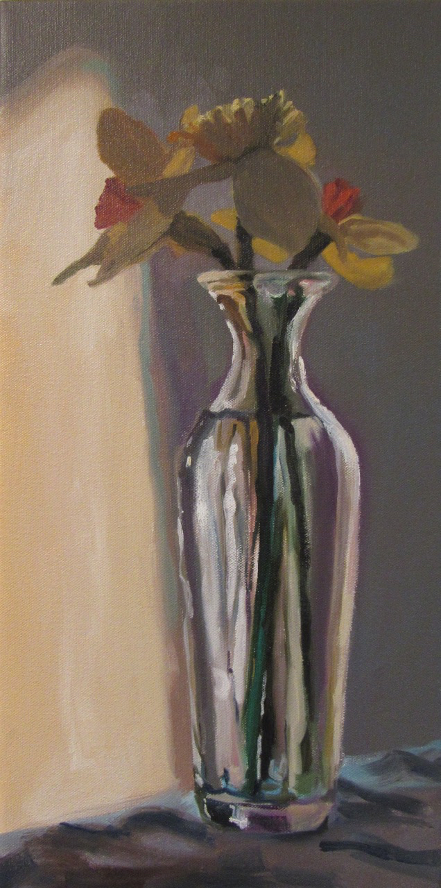 Daffodils in Grey