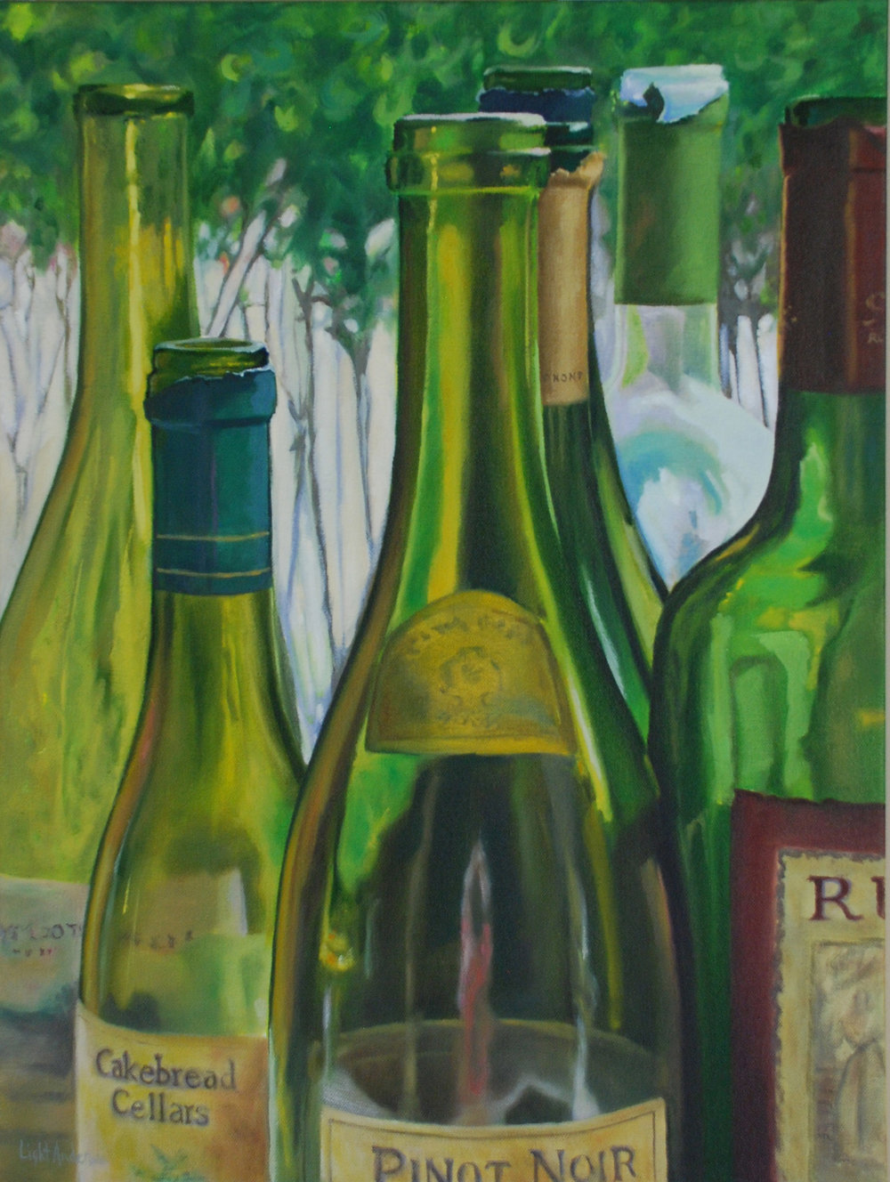 Bottle Portrait 1