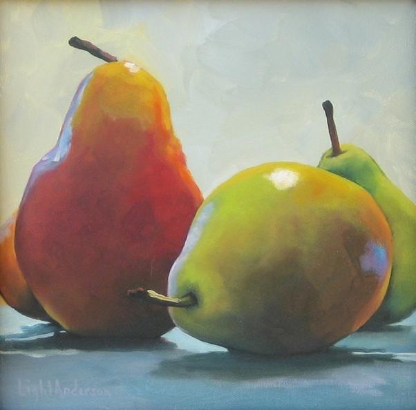 Posing Pears