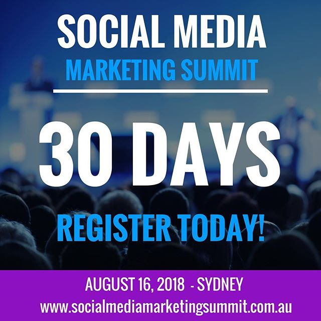 Cannot wait to attend the Social Media Marketing Summit on August 16th at the Rydges World Square in #Sydney.  Tickets are selling fast and the early bird price closes in just 2 weeks.  To book click on the link in the bio 👆  Miri Rodriguez, Brand Storyteller and Social Media Lead from Microsoft is flying in from Seattle to share how you can conquer the art of storytelling in the technical space to effectively connect with #customers & win fans.  She will share #storytelling techniques and present relevant examples of what leading brands are doing to successfully position themselves in the market, beyond AI solution offerings.  Miri speaks all over the world about this topic so it is a must attend session.  We also have other amazing sessions including Jan Hofmann-Cassiani from Facebook, who will be speaking about how to use #Facebook to drive #business KPIs.  We also have sessions from John Kapos, Jillian Bullock, Aoife Marie O'Connell, James Gilbert, Steve Hather & much, much more  Thanks to our amazing sponsors Snackwize, Chatmetrics, BOP Industries & Una Events.  Looking forward to meeting the many attendees who have already registered like Renee Dembowski, Sam Sidney, Jane Jackson, Nicki Dadic, Sasha Hartley, Tarnya Sim, Joanna O'Connor & many, many more  #SMMS2018