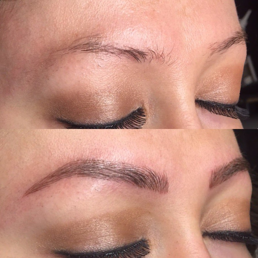 Who is microblading for? - Microblading is for anyone who  wants to enhance the look of their eyebrows.  Eyebrows frame your face and by making them perfectly placed and symmetrical they can truly open up your eyes and give you a more youthful appearance.  Great for busy moms or working women with no extra time on their hands.  People with trichotillomania, alopecia, or anyone who is simply unhappy with their brows, microblading is your answer.