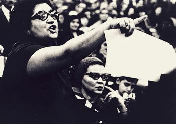 "Dr. Evelina López Antonetty Called the ""Hell Lady of the Bronx"" for her fierce advocacy on behalf of Puerto Rican, Black and other historically oppressed peoples in New York City. She fought for bilingual education, community control of public schools, the creation and survival of Hostos Community College, and founded the community institution United Bronx Parents in 1965. #internationalwomensday"