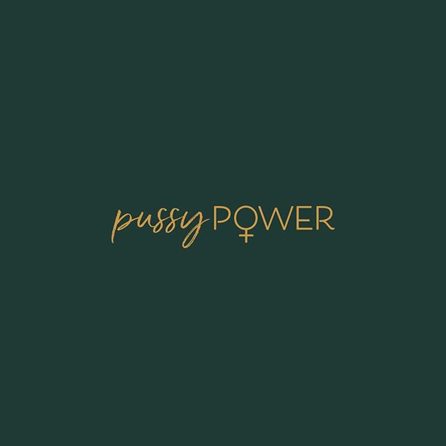 A bold tagline for my new favourite business and the women they inspire. Have you checked out @_odetovenus_ yet?  ˣ ˣ ˣ ˣ ˣ ˣ #pussypower #logodesigner #brand #ritual #selfcare #odetovenus #graphicdesign #yoniverse #yonisteam #witchesofinstagram #yvrdesign #makersgonnamake #beingboss #femalepreneur #bossbabe #divinefeminine #goddessvibes #venusvibes #branddesign #typography #bodylove #newmoon