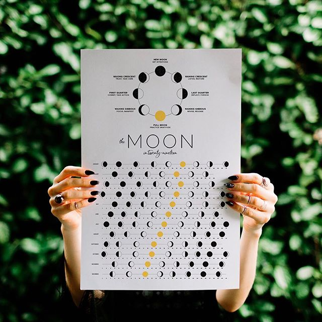 If you were still hoping to get your hands on one of these babies, go visit my friend Amanda (@thewooreview) at the @eastsideflea today! She'll be offering moon calendars, jade rollers, yoni eggs, moon teas and much more from 11–5pm today and tomorrow. Amanda loves to talk self-care rituals, moon phases, and sacred wisdom. She's also really, really nice. Go say hi! ˣ ˣ ˣ ˣ ˣ ˣ #eastsideflea #fleamarket #yvr #vancouver #604now #weekend #mooncalendar #minimalistdesign #designisinthedetails #explorevancouver #printdesign #piscesseason #moontracking #yvrdesign #makersgonnamake #creativehappybiz